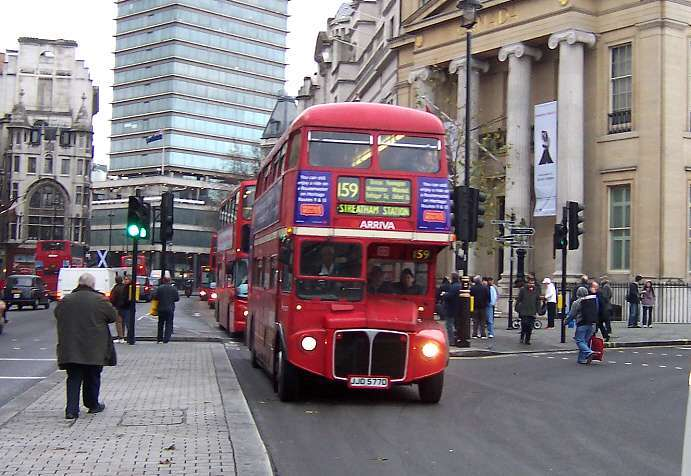 RML2577 at Trafalgar Square