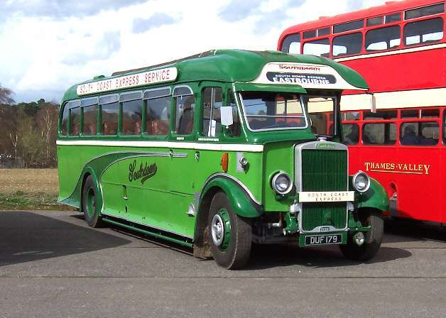 Southdown Leyland Tiger 1179