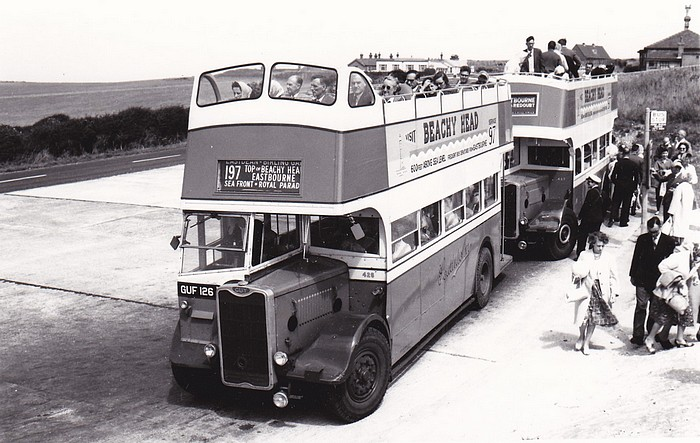 No.426 at the Top of Beachy Head