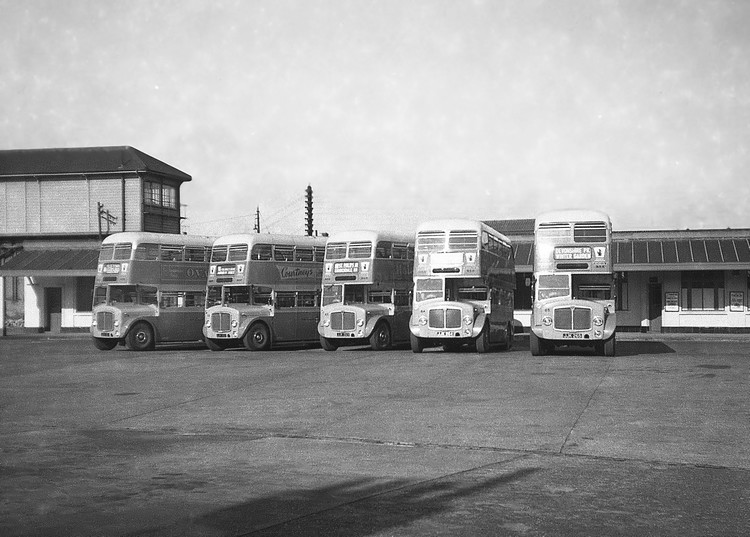 Eastbourne 1962 AEC Regents