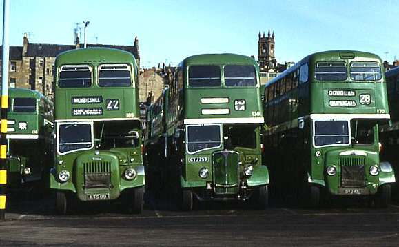No.105 with other Dundee buses