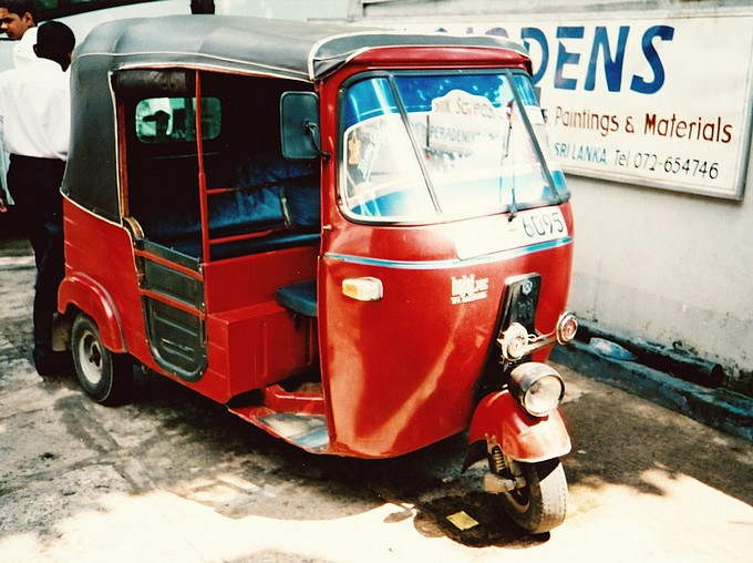The ubiquitous Tuk Tuk
