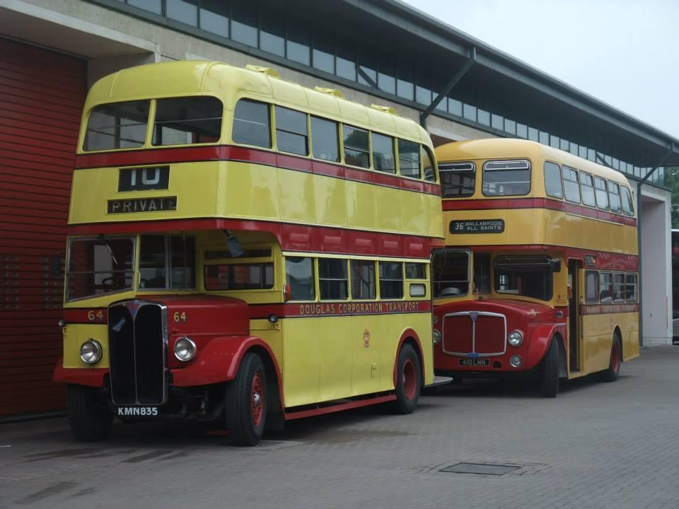 The Classic Manx Buses website - Douglas Corporation