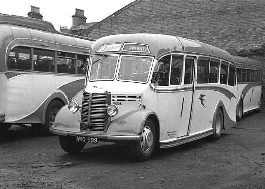Image result for aberdeen busses 1940s