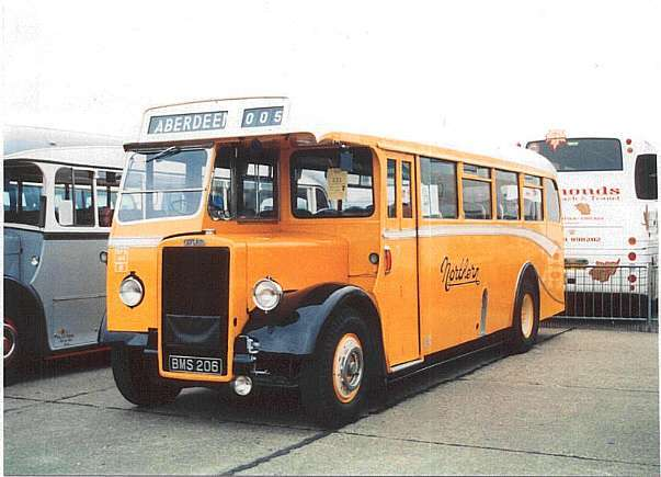 Image result for scottish bus  1965